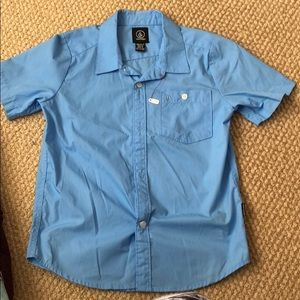 Volcom boys dress shirt XL/7